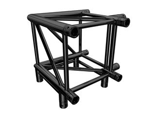 Global Truss F44 P 3-Weg Ecke C30 90° stage black