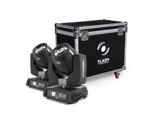 FLASH 2x Moving Head 7R FL-233 BEAM + CASE