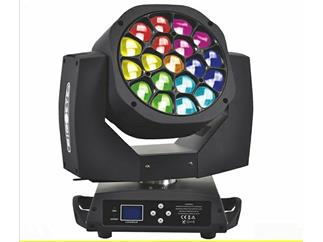 2x FLASH LED MOVING HEAD 19x15W Kaleidoskope Big-EYE VerII im Case