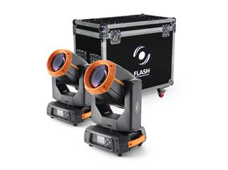 2x FLASH Moving Head FL-330 BEAM 15R + CASE