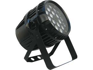 FLASH LED PAR 64 18x12W RGBW 4in1 ZOOM IP65