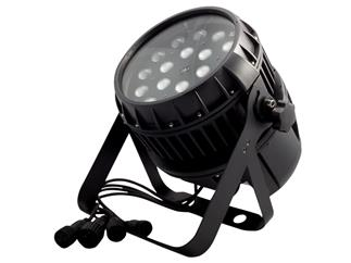 FLASH LED PAR 64 18x12W RGBW 4in1 ZOOM IP65, MKII