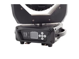 4x FLASH LED MOVING HEAD 19x15W RGBW ZOOM + Case Version MKIII
