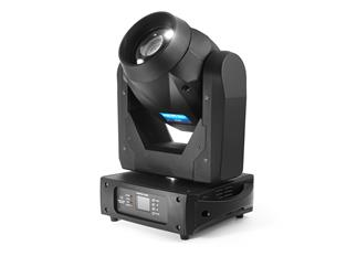 4x FLASH LED MOVING HEAD 150W 2-31° AUTO FOCUS, ROTO PRISM inkl. Case