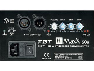 FBT HiMaxX 60 A, schwarz 15 Zoll aktiv