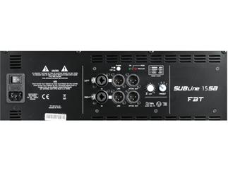 FBT SUBLine 15 SA, schwarz 15 Zoll Subwoofer aktiv