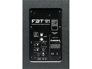 FBT Verve 110 A, schwarz 10 Zoll aktiv