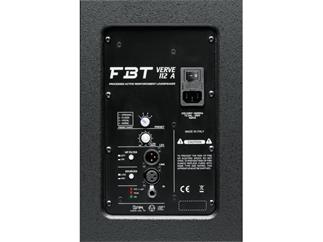 FBT Verve 112 A, schwarz 12 Zoll aktiv