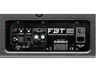 FBT Verve 112 MA, schwarz 12 Zoll Monitor aktiv