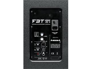 FBT Verve 212 A, schwarz 2x12 Zoll aktiv
