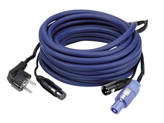 AUDIO Power/Signal Cable Schutzkontakt Male to Powercon I