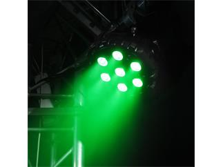 Flash Professional LED PAR 64 SLIM 7x 10W RGBW Mk2 Wireless DMX, 25°