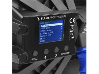 Flash Professional LED PAR 64 SLIM 7x10W RGBW Mk2, 25°
