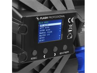 Flash Professional LED PAR 64 SLIM 7x10W RGBW Mk2, 15°