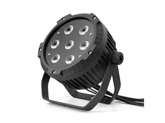 Flash Professional LED PAR 64 7x10W RGBW 4in1 IP65 mk2 -True1 Kabel