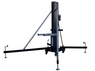 Fantek Gabel-Lift FT5323, schwarz, max. Höhe 4,89m, max. Auflast 235kg/455kg, Winde ALKO 501