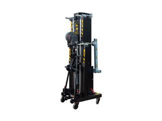 Fantek Gabel-Lift FT6033, schwarz, max. Höhe 5,95m, max. Auflast 330kg/455kg, Winde ALKO901