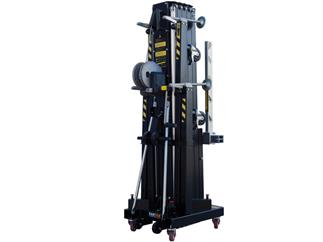 Fantek Gabel-Lift FT6860, schwarz, max. Höhe 6,74m, max. Auflast 600kg/855kg Winde ALKO1201