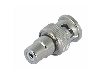 Adapter BNC Male auf Cinch Female 75 Ohm