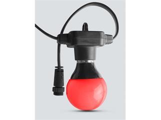 ChauvetDJ Festoon, Lichterkette mit Pixelmapping, IP43, Controller und 15meter mit 20 RGB Lampen