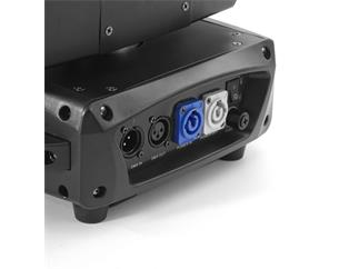 4x Flash Moving Head Wash 19x15W RGBW 4in1 Zoom, 3 Sektionen - 4er Set im Case