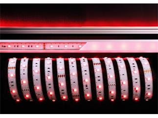 Flexibler LED Stripe 24V, 10 m Rolle, RGB