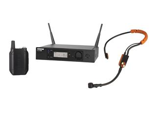 SHURE GLXD14RE / SM31 Taschensender mit SM31 Headset digital 2,4Ghz