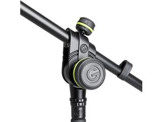 Gravity  MS 4322 B - Mikrofonständer mit Dreibein-Klappfuß und 2-Punkt Ausziehgalgen