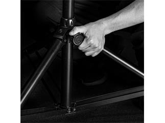 Gravity TSP 5212 LB Touring-Lautsprecherstativ aus Stahl mit automatischer Lockpin-Verrieglung
