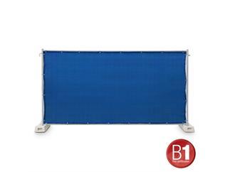 Gaze Typ 800 Bauzaunblende 1,76x3,41m geöst hellblau