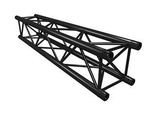 Global Truss F34PL Version schwarz 50cm, 4-Punkt Truss, inkl. Verbinder