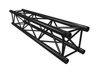 Global Truss F34PL Version schwarz 200cm, 4-Punkt Truss, inkl. Verbinder
