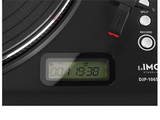 IMG STAGE LINE Plattenspieler DJP-106SD
