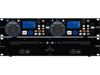 IMG STAGE LINE Dual-CD-Spieler CD-230USB