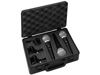 IMG STAGE LINE Mikrofon-Set DM-3SET