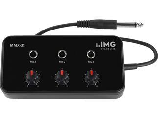 IMG STAGE LINE Mikrofon-Mischer MMX-31
