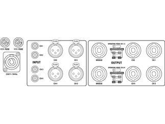 IMG STAGE LINE Digitalverstaerker STA-2000D