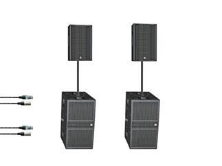 HK Linear LTS System 2x Top 2x Sub, aktiv