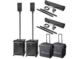 HK Audio LUCAS Nano 600 Stereo Set inkl. Add-On Packages und Roller Bags