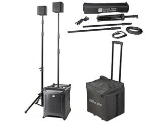 HK Audio LUCAS Nano 300 Set inkl. Add-On Package und Roller Bag