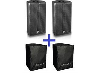 2x HK Audio LINEAR 5 L5 112 XA + 2x Schutzhüllen