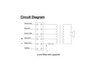 Honeywell Projektorlautsprecher L-VJM20A/EN IP65 (EN54)