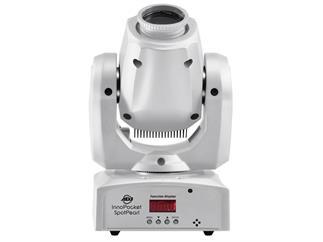 4x American DJ Inno Pocket Spot PEARL weiß ADJ inkl. 4x Accu-Case Taschen AC-115