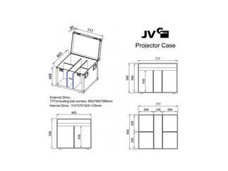 JB Systems Projektor Case