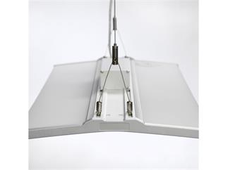 Kanlux CODIA LED 8030 40W-NW LED Büroleuchte, Pendelleuchte