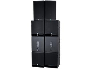 KME Versio SD8, 2 x VL 760 Topteile + 2 x VSS 18 Subwoofer + 4x VB 18 Subwoofer