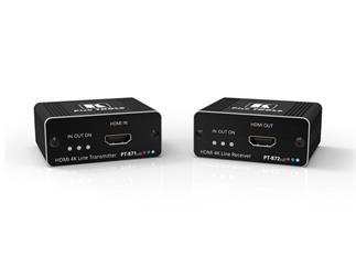 Kramer PT-871/2xr-KIT 4K HDR HDMI Kompakte PoC Übertrager über große reichweite DGKat 2.0