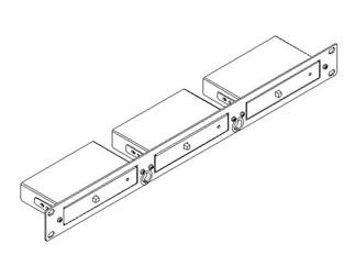 """Kramer RK-3T, 19"""" Rack-Adapter, 1HE für bis zu 3 Kramer Tools™"""
