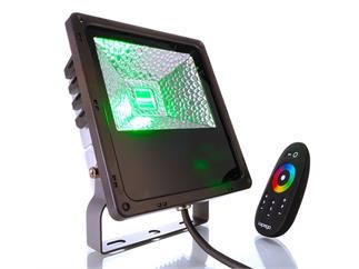 Kapego LED Outdoor Fluter RF 30W RGB IP65