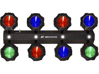 JB Systems - Party Beams 8 x 9W LED Spots + 4 LED Strobes